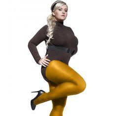 Perla 40 denier plus size tights black