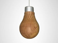 wooden_bulb (The bulb isn't solid wood as it appears - it's a thin wooden shell that's opaque when the LED is off, but translucent when lit from within!)