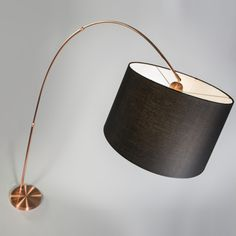 Ikea Bogenle bogenleuchte stahl schirm konisch 50cm grau ein absoluter