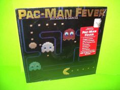 Buckner & Garcia – Pac-Man Fever 1982 Vinyl LP Record SEALED Do The Donkey Kong #SynthPopPopRock1980sNovelty