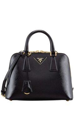 Classic Black Prada Bag