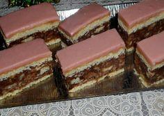 Nálunk ez a hatalmas kedvenc, amit bármilyen alkalomra elkészíthetek, Hungarian Cake, Hungarian Recipes, Hungarian Food, Biscotti Cookies, Cake Cookies, Coconut Desserts, Cake Recipes, Sweet Tooth, Bakery