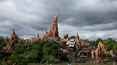 The sky is clearing up! #BigThunderMountain