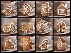 Škola varenia - Page 3 of 7 - Mňamky-Recepty. Hot Chocolate Recipes, All Holidays, Christmas Baking, Diy Gifts, Gingerbread, Ale, Xmas, Place Card Holders, Treats