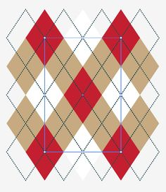 The Argyle pattern dates back to 17th-century Scotland. Learn how to make a 21st-century digital version in 10 easy steps! | Difficulty: Beginner; Length: Short; Tags: Designing, Vector, Adobe Illustrator
