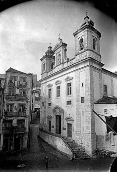 Lisboa de Antigamente: Igreja de S. Miguel