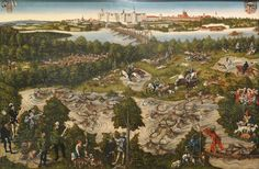 The Hunt for Charles I by Lucas Cranach the Elder