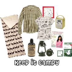 Planning on getting back to nature this summer?  I have everything you will need to look good while roughing it!