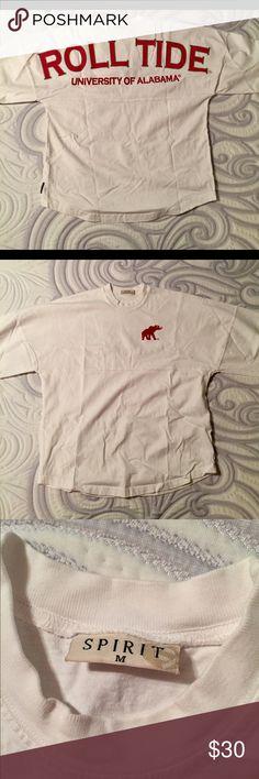 Alabama spirit jersey White Alabama spirit jersey size medium. Nike Tops Tees - Long Sleeve