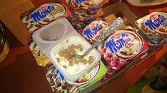 Po zakupach , nie mogłam sie doczekać i już jedno zjadłam  #drugieśniadanie #Monte #trnd #MONTE