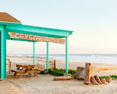 Crystal Cove Beach CA: http://beachblissliving.com/the-historic-crystal-cove-beach-cottages-in-southern-california/