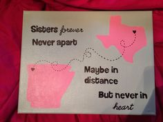 Sister craft <3 for my dot when i graduate and leave indianaaaaa