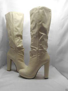 Michael Antonio Women's Baldwin Platform Boot 8.5M #MichaelAntonio #FashionKneeHigh