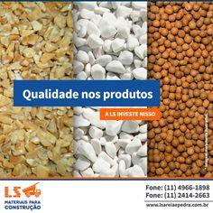 Sua obra merece produtos com extrema qualidade.  É nisso que a LS investe, em qualificação!