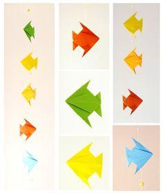 Colgante de Origami - Origami - Productos de Papel - 73317