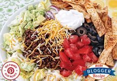 Top Pinned Recipe: Taco Salad. A classic dish that's an easy go-to for any day of the week!