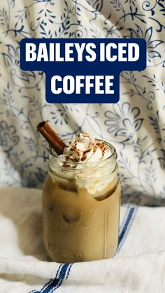 Alcoholic Coffee Drinks, Coffee Drink Recipes, Alcohol Drink Recipes, Coffee Cocktails, Beverages, Baileys Iced Coffee, Baileys Recipes, Coffee With Alcohol, Breakfast Smoothies For Weight Loss