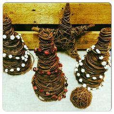 Twig Trees Handmade in the Dominican Republic! Each purchase provides jobs and gives back! Liberate