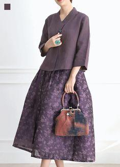 Women S Fashion Like Boden Kimono Fashion, Hijab Fashion, Fashion Dresses, Japan Fashion, Love Fashion, Womens Fashion, Fashion Design, Simple Dresses, Casual Dresses