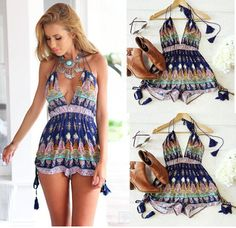 Cheap Dresses on Sale at Bargain Price, Buy Quality shirt free, shirt rose, shirt body from China shirt free Suppliers at Aliexpress.com:1,Style:Beach 2,Gender:Women 3,Color Style:Natural Color 4,Brand Name:dress other 5,Season:summer dress Backless Playsuit, Short Playsuit, Cheap Dresses, Dresses For Sale, Summer Dresses, Summer Jumpers, Rompers Women, Clothes For Women, My Style