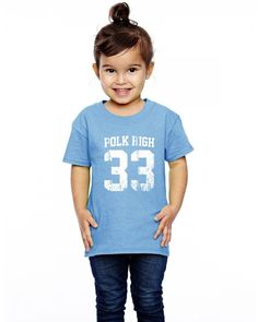 polk high funny Toddler T-shirt