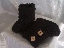 scarpine bebè on lana