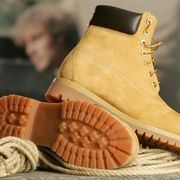 Timberland's waterproof construction-style boots can take a beating through dirty and wet conditions and keep on stomping. The classic yellow, full-grain nubuck leather boots popularized by hip-hop artists that include Jay Z and the Wu-Tang Clan are especially durable and easy to maintain. The suede upper flaps found on some women's styles require...