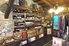 Tienda zona de vinos