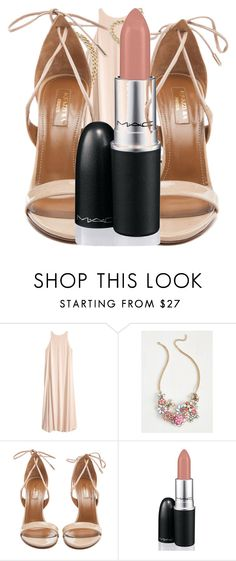 """""""Untitled #84"""" by anisarizvic ❤ liked on Polyvore featuring Aquazzura and David Jones"""