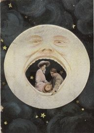 Another vintage paper moon swoon! Paper Moon, Vintage Photographs, Vintage Photos, Constellations, Moon Photos, Moon Illustration, Moon Magic, Moon Art, Moon Child