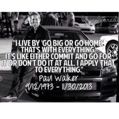 Paul Walker quote