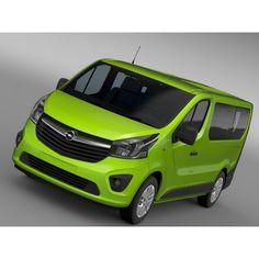Opel Vivaro EcoFlex 2015 - 3D Car for Maya