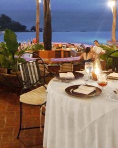 Hotel Punta Islita  ( Guanacaste, Costa Rica )  The reinvented restaurant menu includes fresh seafood dishes such as octopus carpaccio. #Jetsetter #JSBeachDining