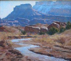 """""""Castle Valley"""" - Originals - All Artwork - Lorenzo Chavez   Fine Art World"""