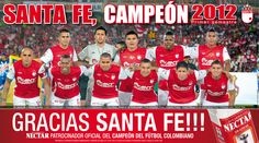 Santa FE campeón 2012-1 Fes, Christmas Sweaters, Grande, Club, Beautiful, Santa Fe, Knee Boots, Champs, Sports