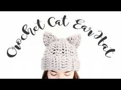 (4) Crochet Cat Ear Hat // Step by Step Crochet Tutorial // Veronica Marie - YouTube