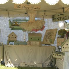 Chateau De Fleurs: A Few Fun And Fabulous booth Presentations From the September 2011 TVM