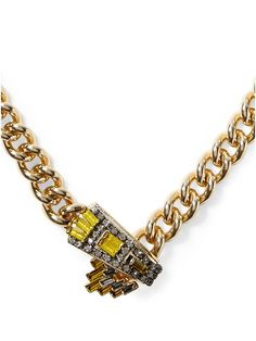 jeweled yellow necklace http://rstyle.me/~2Mdnx