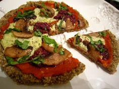 The Green Lean Bean: Raw Buckwheat Pizza Recipe