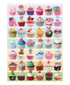 Look at this #zulilyfind! Cupcakes 1,000-Piece Puzzle #zulilyfinds