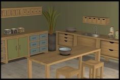 Buggy's retreat: Kitchen Basic Extras: lots of new goodies!