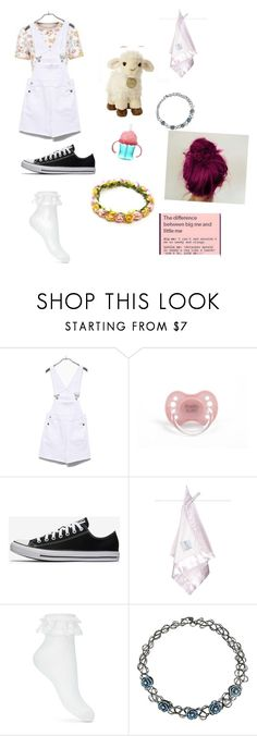 """Ddlg day out"" by kick-the-faith ❤ liked on Polyvore featuring Disney, Little Giraffe, Miss Selfridge and Hot Topic"