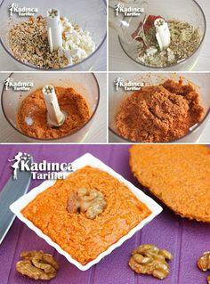 Kahvaltılık Salçalı Peynir Ezmesi Tarifi Kadincatarifler.com - En Nefis Yemek Tarifleri Sitesi - Oktay Usta