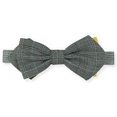 Gravata Diamond Príncipe de Gales Amarelo – Dois Maridos – Gravatas Borboletas, Suspensórios e informações de moda.