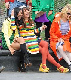 Glee Love Santana and Rachel