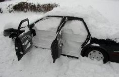 Now that's snowed in!