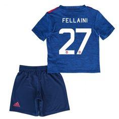Manchester United Fotballklær Barn 16-17 Marouane Fellaini 27 Bortedraktsett Kortermet   #billige  #fotballdrakter