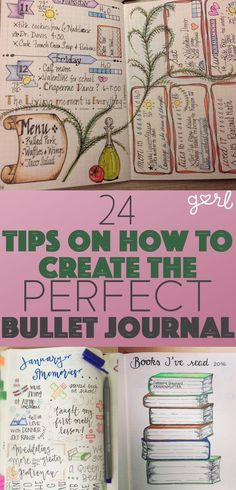 Create the perfect bullet journal for you.