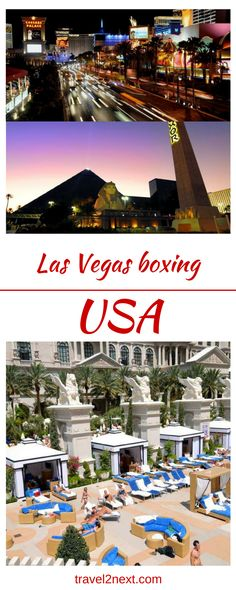 "Las Vegas boxing. ""Start spreading the news, I´m leaving today, I want to be a part of it, Las Vegas… "" If only it sounded better on the ear, because this is the town Sinatra should´ve been singing about."