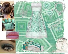 """""""My lucky four leaf clover"""" by pandadolphin on Polyvore"""